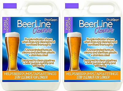 Purple Beer Line Cleaner Sanitise Pipe Pump Wash Cleaning Pub Bar Lines Solution