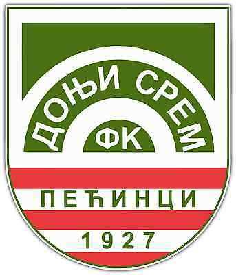 "FK Donji Srem FC Serbia Football Soccer Car Bumper Window Sticker Decal 4""X5"""