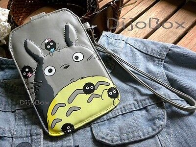 My Neighbor Totoro Cell Phone Smartphone Android Digital Camera Case Holder Bag