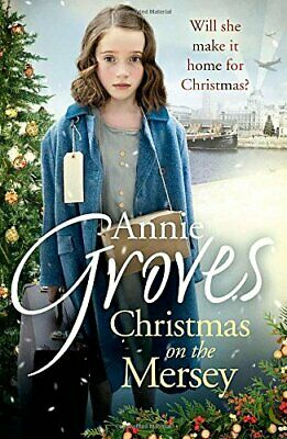 Christmas on the Mersey by Groves, Annie Book The Cheap Fast Free Post