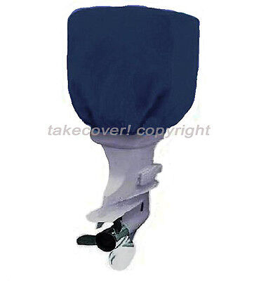 50 - 115 HP Boat Outboard Motor Engine Cover Navy Blue Universal Trailerable N15