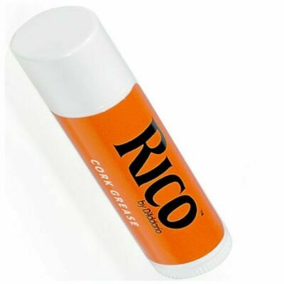 Rico Premium Cork Grease 1 Tube Lipstick Style For Woodwind Clarinet Saxophone