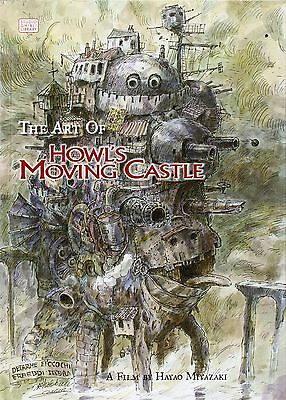 The Art of Howl's Moving Castle (Studio Ghibli Library) by Hayao Miyazaki HB