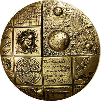 [#87709] FRANCE, Sciences & Technologies, The Fifth Republic, Medal, MS(65-70)