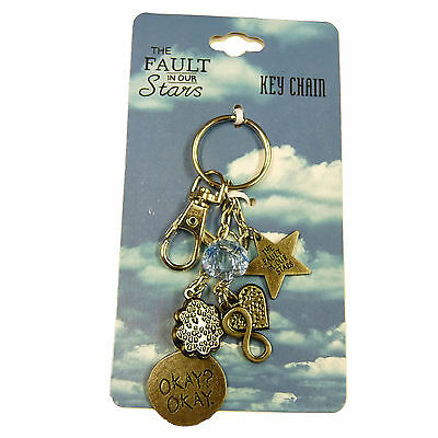 The Fault In Our Stars OFFICIAL Okay? Okay Infinity Charm Bangle Keychain Gift