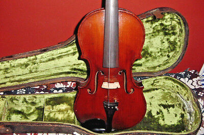 Retroflashbacks  Vintage  Violin C1900 Great Patena Full 4/4  Size Fiddle