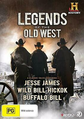 Legends Of The Old West - DVD Region 4 Free Shipping!
