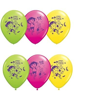 (6ct) Nickelodeon Dora Birthday Latex Balloons Party Supplies 12""