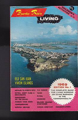 Puerto Rican Living 1969 Edition Living Working & Doing Business