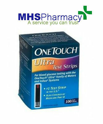 OneTouch ULTRA Test Strips - 100 strips