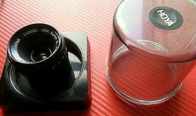 Enlarger lens 40mm Hoya Super EL f 3.5 immaculate in case Darkroom printing