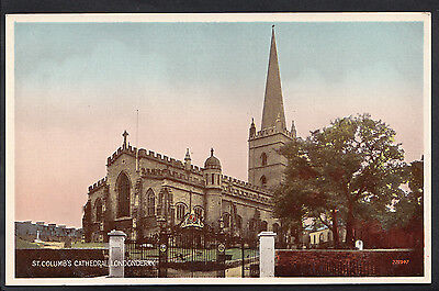 Northern Ireland Postcard - St Columb's Cathedral, Londonderry   DD322