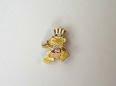 """Vintage '84 Olympics, pin button, 11/16"""" x 1"""""""