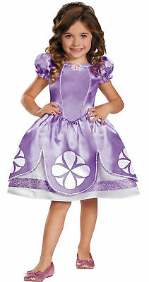 Disney Junior Sofia the First Girls Toddler Costume Gown Princess Halloween