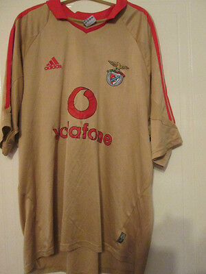 Benfica 2004-2005 Third 3rd Football Shirt Size Extra Large XL Mans /35130