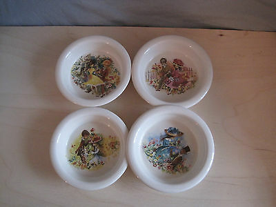 Carlton Ware Collectible Love and Flowers Decorative Small English Bowls