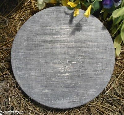 """Slate heart mold stepping stone concrete plaster mould 17/"""" x 1.5/"""" thick"""