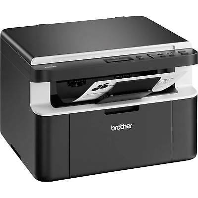 Brother DCP-1512 DCP1512ZU1 Compact 16MB All In One Mono Laser Printer in Black