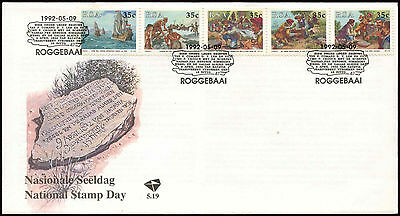 South Africa 1992 National Stamp Day FDC First Day Cover #C14318