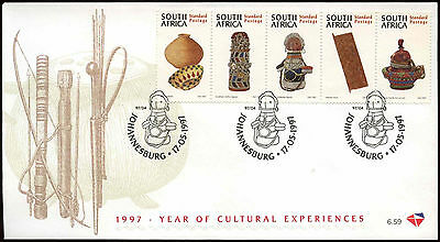 South Africa 1997 Cultural Experiences FDC First Day Cover #C14374