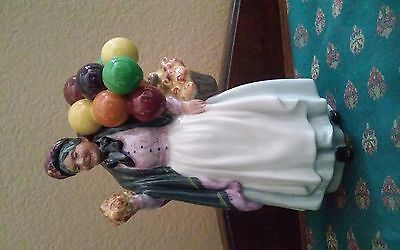 "Royal Doulton HN 1843 ""Biddy Pennyfarthing""  Figurine 9"" Tall"