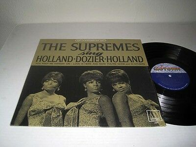 THE SUPREMES Sing Holland Dozier Holland MOTOWN 650 Stereo NM! Shrink
