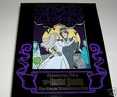 Disney The Haunted Mansion Eve of Valentine's Day Last Dance Limited Edition Pin