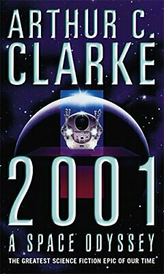 2001: A Space Odyssey, C. Clarke CBE, Sir Arthur Paperback Book The Cheap Fast