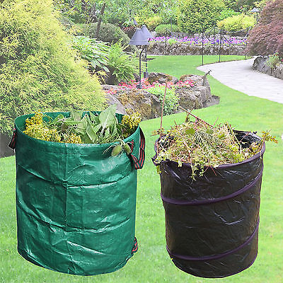 Large Heavy Duty Garden Waste Strong Bag Refuse Leaves Rubbish Recycling Sack