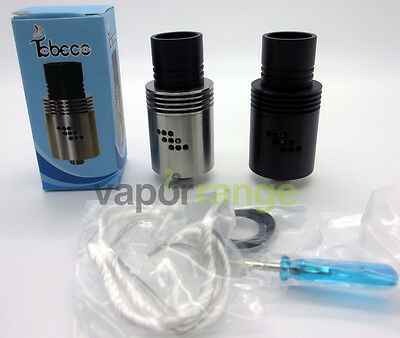 Tobeco Mutation X V2 Clone Stainless Steel RDA Rebuildable Dripping Atomizer