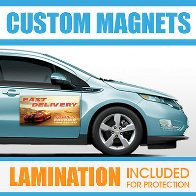 12x24 Custom Car Magnets Magnetic Auto Car Truck Signs -(QTY-2)