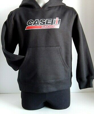 Case IH Youth Black Hoodie Sizes: S, M, L or XL