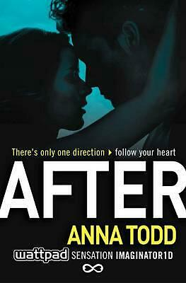 After by Anna Todd Paperback Book Free Shipping!