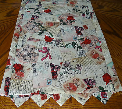 Table Runner Topper ~ Love Letters ~ A Victorian Vintage Style B