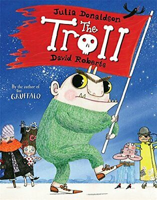 The Troll by Donaldson, Julia Paperback Book