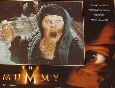 THE MUMMY - 11x14 US Lobby Cards Set - Brendan Fraser, Rachel Weisz