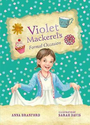 Violet Mackerel's Formal Occasion by Anna Branford Hardcover Book Free Shipping!