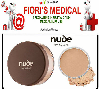 Nude By Nature Mineral Cover Light 15G (Make Up Foundation Powder)