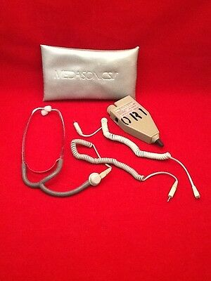 Used Medasonics Ii Ref Bf5A Ultrasound Stethoscope 8Mhz Blood Flow Decector