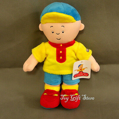 Kids Child Children Plush Doll Stuffed Toy Caillou 12""
