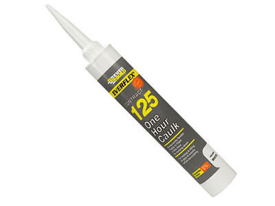 Everflex 125 One Hour Caulk Everbuild Decorators Filler Sealant