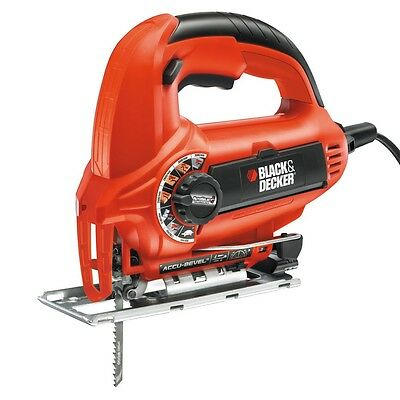 Black&Decker Seghetto alternativo 520W Autoslect dotazione 1 Lama Mod. KS800S
