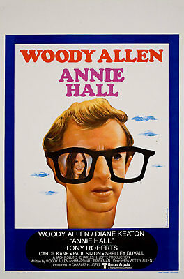 Annie Hall 1977 Belgian Poster