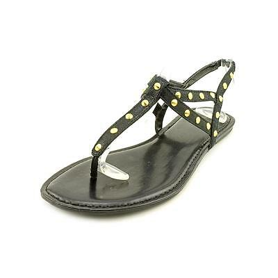 Style & Co Zoee Womens Size 8 Black Thongs Sandals Shoes