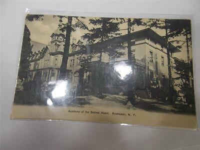 """Rochester, NY, Early 1900s Postcard, """"Academy of the Sacred Heart"""""""