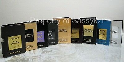 Tom Ford Perfume Sample Vials Mini Bottles Sold Individually You Choose Scent