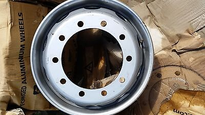 AS NEW 10 stud tubless truck rims genuine Scania
