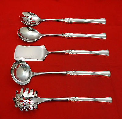 Queen Christina aka Wings by Frigast Sterling Silver Hostess Set 5pc Custom