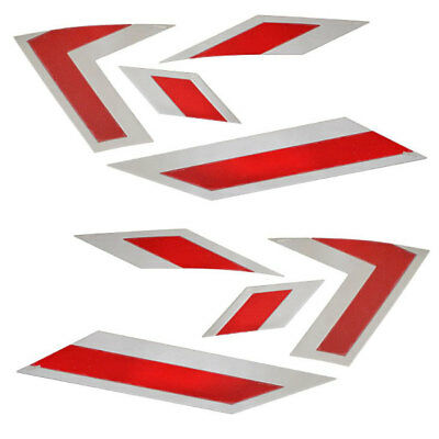 MasterCraft OEM 2013 X-Star PT Red / Silver 8-Piece Boat Raised Decal Kit MB3000