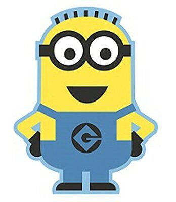 Despicable Me 80 x 100 cm Polyamide with Foam Padded Back Minion Shaped Rug